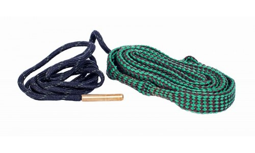 Гибкая змейка CleaningCord от ShotTime, кал.5,6мм, с бронз.ершом, материал-капрон, шнур 76см. с прот