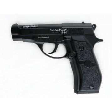 "Пистолет пневматический Stalker S84 (аналог ""Beretta 84"") к.4,5 мм,металл, 120 м/с  ST-11051М"