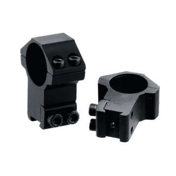 Кольца Leapers AccuShot 25,4 мм на призму 10-12мм, высокие