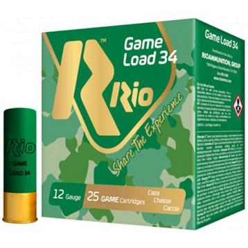 Патрон калибр 12 др.№00 RIO Game Load-34 осн.16 (25 шт)