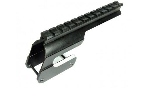 Кронштейн  Weaver на МР-155 для ствольной коробки, 15 шагов, возможность стрельбы с открытого прицел