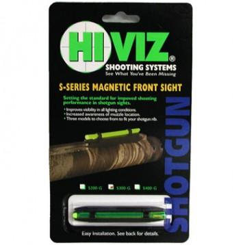 HiViz мушка S300-G зеленая 5,5 мм - 8,3 мм