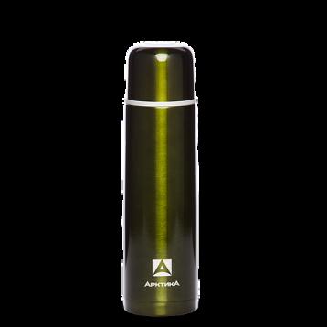 Термос бытовой АРТИКА, 1000 мл с узким горлом 4,4 см нерж.ст классический 102-1000