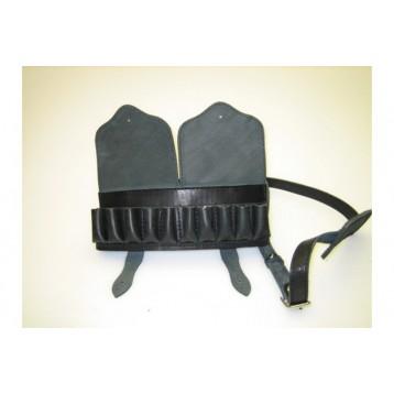 Подсумок двурядный для наплечного ношения на 24 патрона закрытый 12,16,20кал. (ZIMMERMAN 3-77)