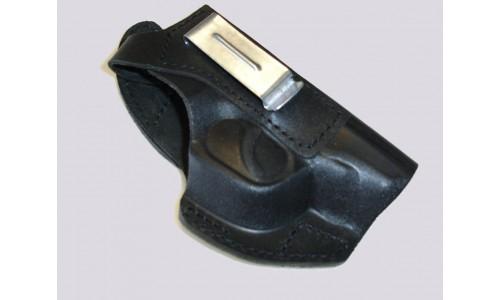 Кобура поясная под ПМ со скобой для скрытого ношения, формованная (кожа) К-7, РАНГ