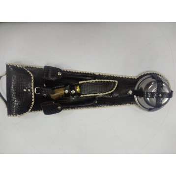 Набор шашлычный Н-14 на 6 персон (нож, шампуры, миски, ложки, вилки)