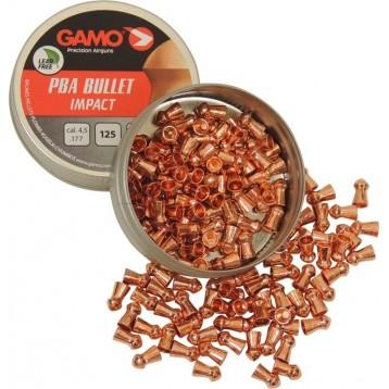 Пули GAMO PBA Bullet (125шт) 0,45 гр кал. 4.5