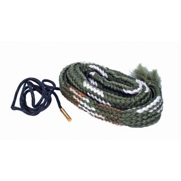 Гибкая змейка CleaningCord от ShotTime, кал.20, с бронз.ершом, материал-капрон, шнур 65см. с протяжк