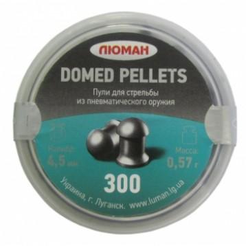 """Пули """"Люман"""" Domed pellets кал. 4.5 (300 шт.) 0,57г."""