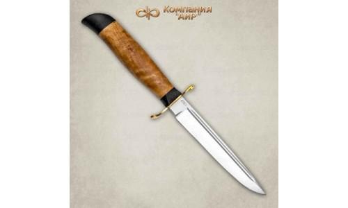 """Нож.охотничий Финка Вача"""" карельская береза, (95х18) Компания """"АиР"""""""