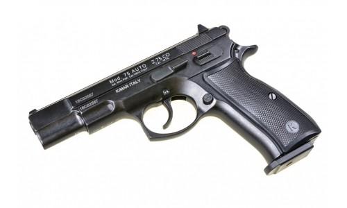"""Оружие списанное охолощенное пистолет """"Z 75 KURS"""" кал. 10ТК хром"""