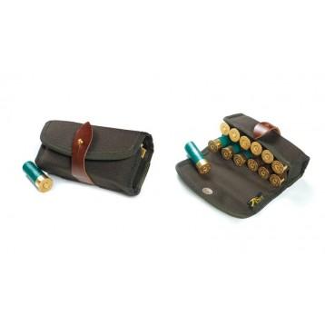 VEKTOR Подсумок двухрядный из ткани кордура на 12 патронов 12, 16, 20 калибр