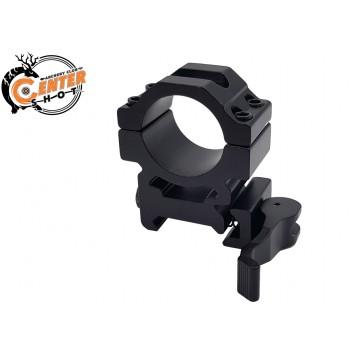 Кольцо на Weaver универсальное быстросъемное Centershot для крепления прицелов/фонарей/боуфишинга (д