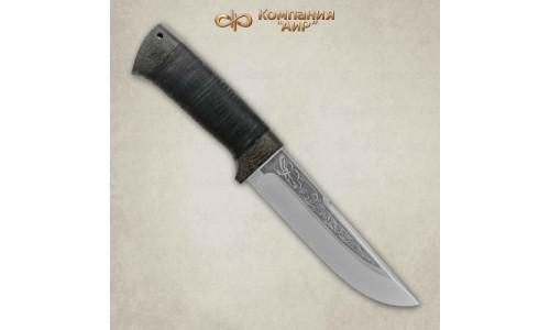 """Нож охотничий """"Беркут """" кожа (95х18) Компания """"АиР"""""""