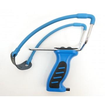 Рогатка MK-SL08 с упором и магазином (синяя)