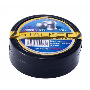 Пули STALKER Domed Pellets к.4.5 мм (0,57 гр. 250 шт) ST-DP57