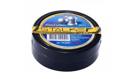 Пули STALKER Domed Pellets к.4.5 мм (0,57 гр. 250 шт) ST-DP57