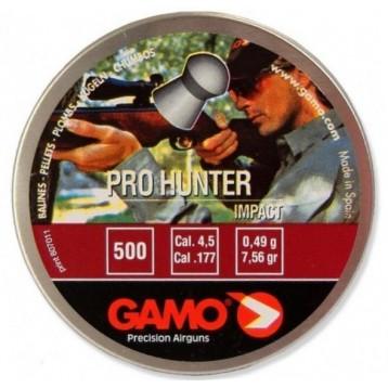Пули GAMO Pro Hunter (500шт) 0,49гр кал. 4.5