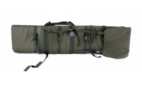 VEKTOR Чехол-мат снайперский зеленый из капрона с пенополиэтиленом и креплением оружия системой «мол