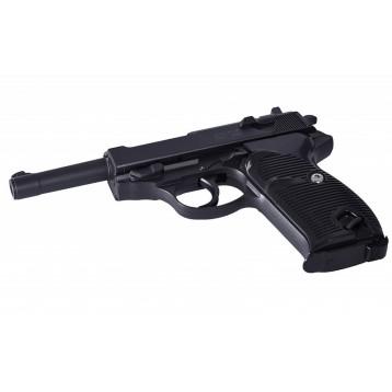 Пистолет пневматический Stalker SA38 (аналог Walter P38) к.6 мм, металл, 13 шар,80 м/с SA-3307138