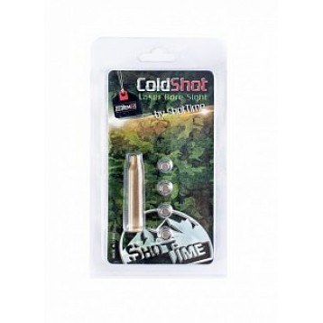 Лазерный патрон ShotTime ColdShot кал. .223Rem, материал - латунь, лазер - красный