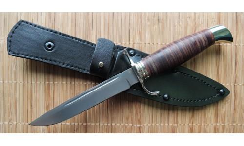 """Нож """"Титан"""" (сталь 95х18, рукоять дерево) ИП Солдатова Е.А."""