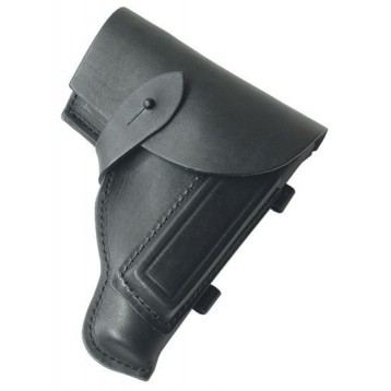 Кобура кожаная для ношения ПМ (56ш125) черный 50мм Стич Профи  32808005