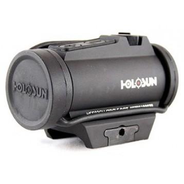 Коллиматор Holosun Micro на Weaver +крон.,точка/круг-точка 2/65MOA,U-защита,12 подсв HS503R