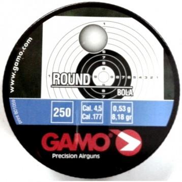 Пули GAMO Round (250 шт) 0,53гр кал. 4.5