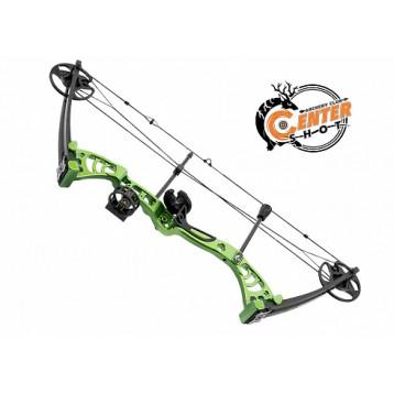 Лук блочный Man Kung MK-CB50 Aurora зеленый KIT_