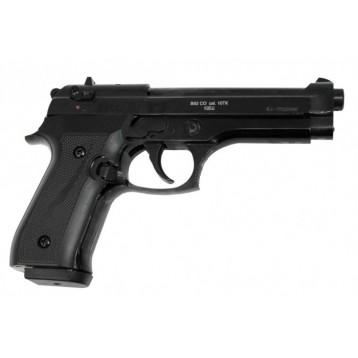 """Оружие списанное охолощенное пистолет """"В92-KURS"""" кал. 10ТК черный матовый"""