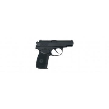 Пистолет списанный, охолощенный модели Р-411-02 с возможностью имитации светозвук. дейст. к. 10ТК