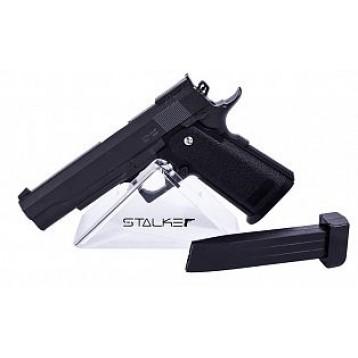 Пистолет пневматический Stalker SA5.1 Spring (аналог HI-Capa 5.1) к.6мм; мет. корпус