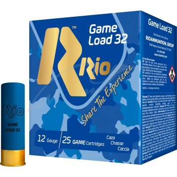 Патрон калибр 12 др.№0000 RIO Game Load-32 осн.12 (25 шт)