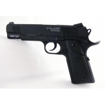 "Пистолет Stalker S1911RD (аналог ""Colt 1911"") к.4,5 мм, метал-плс, 120 м/с блоубэк пневматST-12061RD"