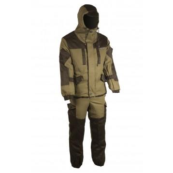 """Костюм """"Ангара"""" цвет хаки, ткань палатка/грета со снегозащитными гетрами размер 52-54"""