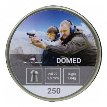 Пули Borner Domed  кал. 5,5 (250шт) 1,15 гр