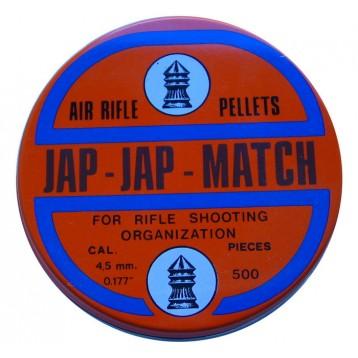 Пульки Jap-Jap кал. 4,5 мм, (500 шт./бан.)