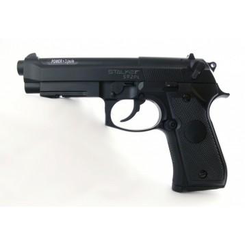 "Пистолет пневматический Stalker S92PL (аналог ""Beretta 92"") к.4,5 мм,пластик, 120 м/с ST-12051PL"
