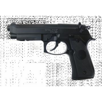 "Пистолет пневматический Stalker S92МЕ (аналог ""Beretta 92"") к.4,5 мм,металл, 120 м/с ST-11051МЕ"