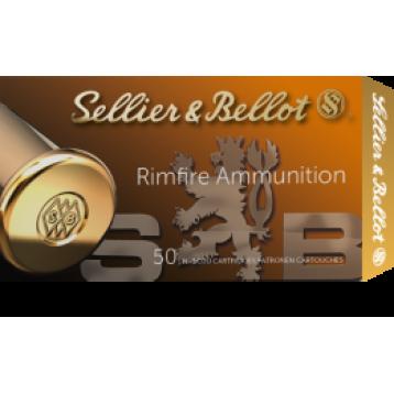 Патрон калибр 22 LR S&B пуля Subsonic LRN 2,56 г (50шт)