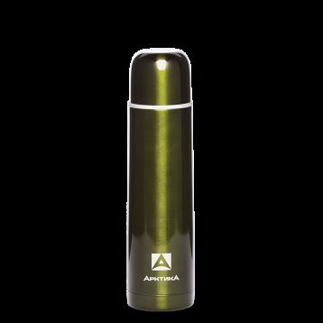 Термос бытовой АРТИКА, 750 мл, с узким горлом 4,5 см нерж.ст классический102-750