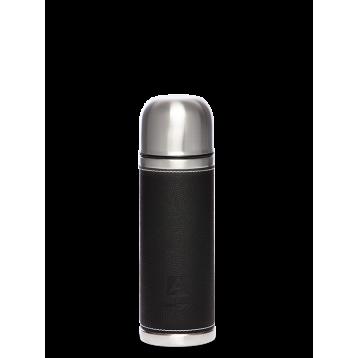 Термос бытовой АРТИКА, 500 мл, с узким горлом 3,9 см нерж.ст в кожаной оплетке 108-500