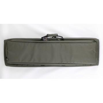 """VEKTOR Кейс из капрона зеленый с пенополиэтиленом и креплением оружия системой """"молле"""" с рюкзачными"""