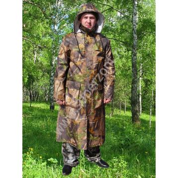 КОМИССИЯ Плащ  для охотника-рыбака, не промокаемый, с капюшоном (170/11)