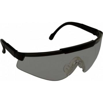 очки стрелковые Sporty дымчатые (УФ-защита, класс оптики 1, незапотевающие, регулируемые дужки, смен