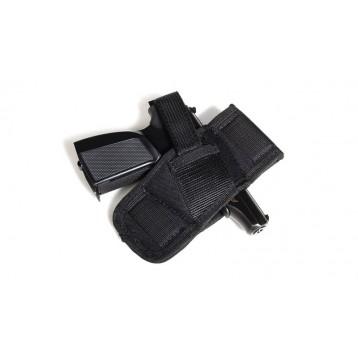 VEKTOR Поясная кобура из синтетического материала с карманом под запасную обойму для ИЖ-71 и аналог.