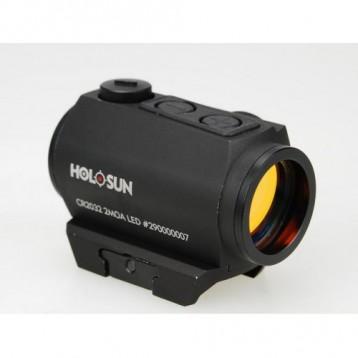 Коллиматор Holosun Micro на  Weaver/Picatinny + кронш., точка 2МОА HS403A