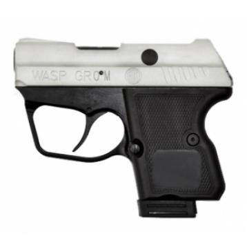ОООП пистолет WASP Grom k.9мм РА с никелированным покрытием