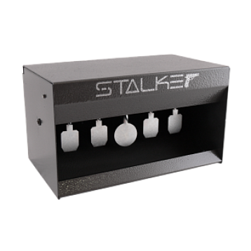 "Минитир STALKER ""IPSC"" самосброс, для пневматич.оружия 4,5мм, 5 медальонов толщина 3мм., 300х170х170"